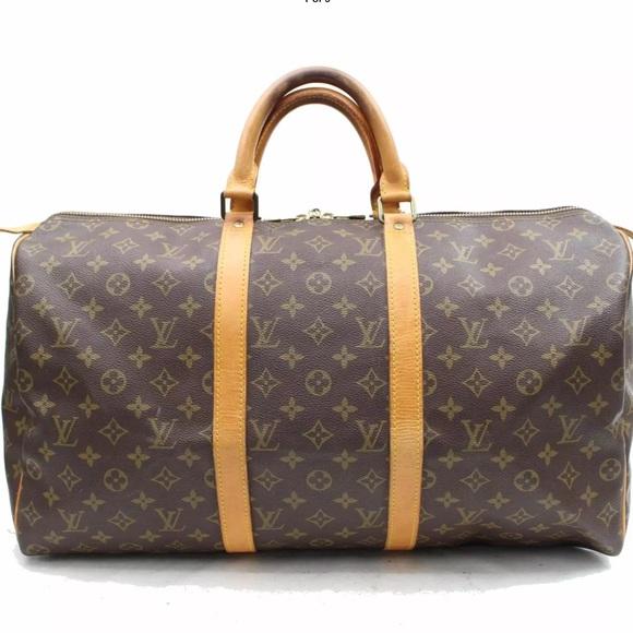 b25e7ca67cc Louis Vuitton Handbags - Authentic Louis Vuitton Keepall 50